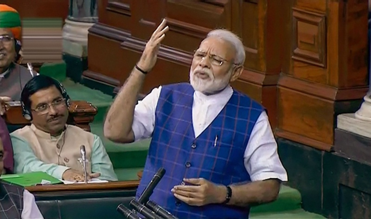 Congress cannot see beyond a family, my government gave Bharat Ratna to Pranab Da: PM Narendra Modi