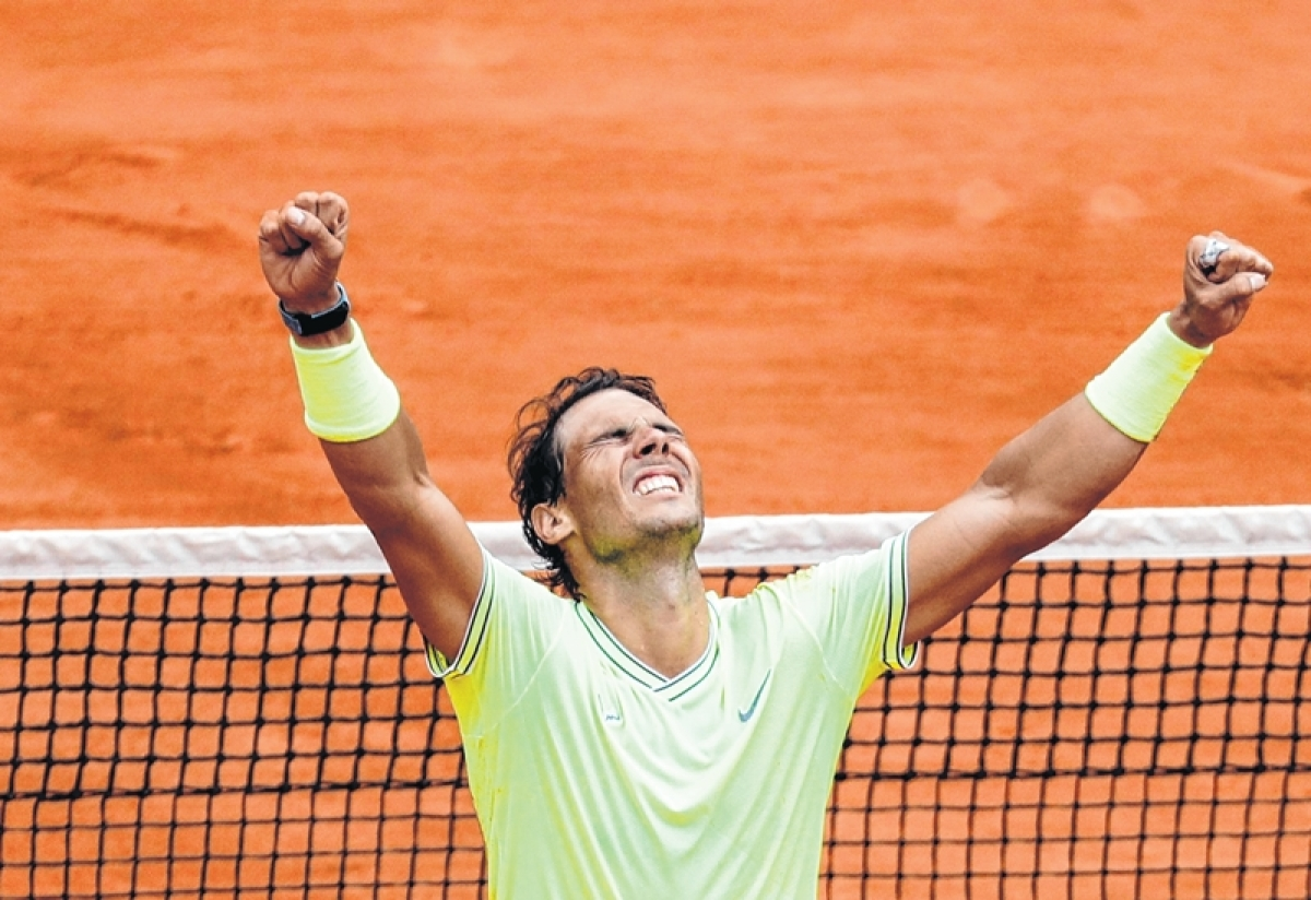 Rafael Nadal's romance with Paris
