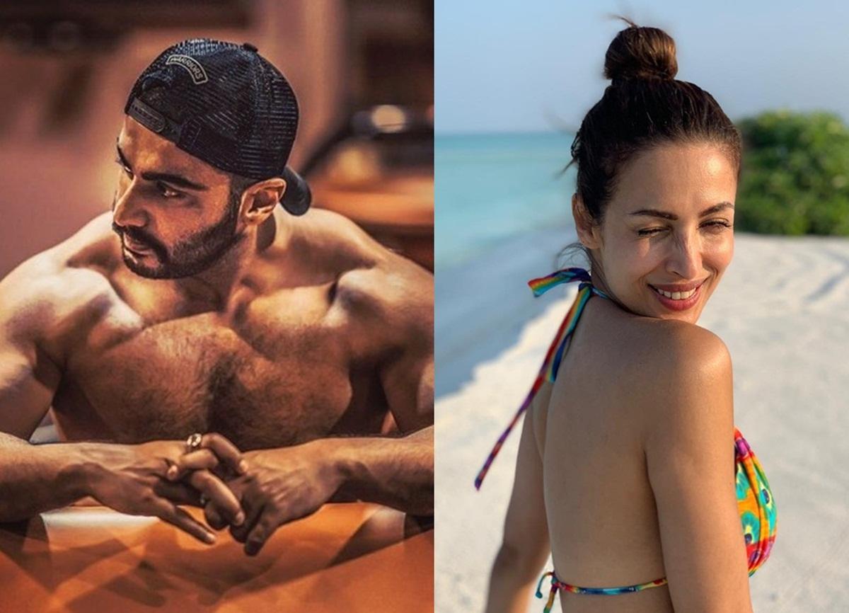 Malaika Arora Couldn't resist reacting on Arjun Kapoor's shirtless look