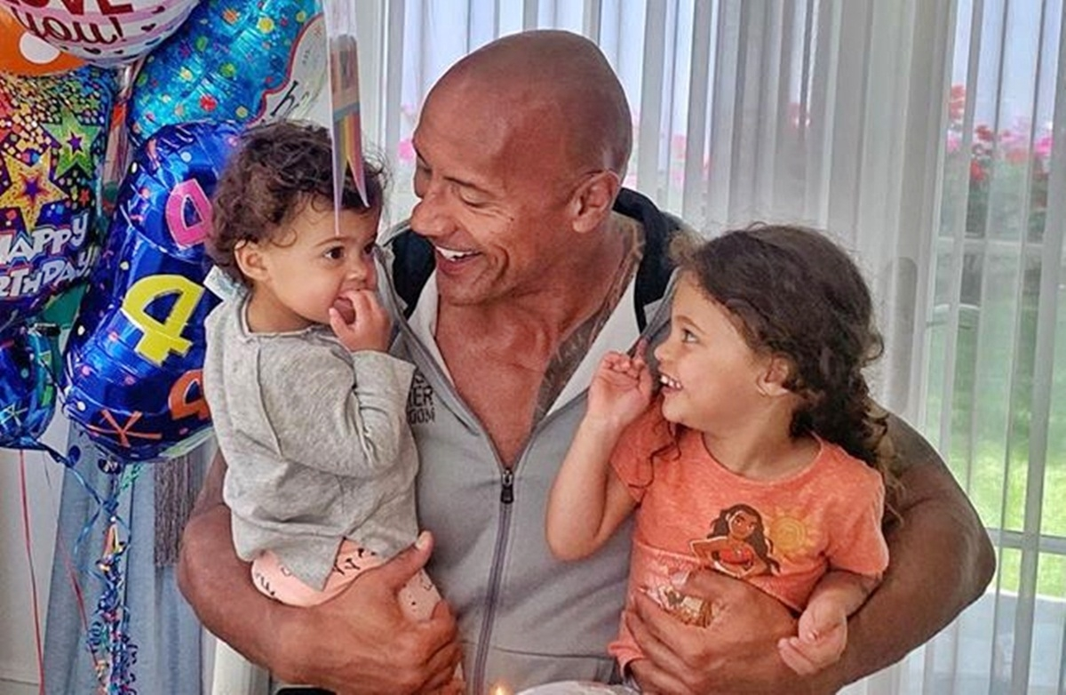 The Rock criticized over post on his 3-year-old daughter