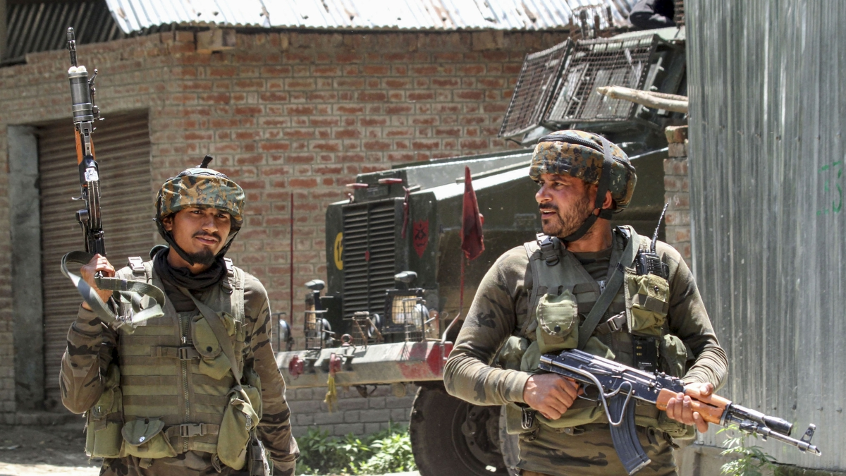 Two militants killed in encounter with security forces in J&K's Pulwama district