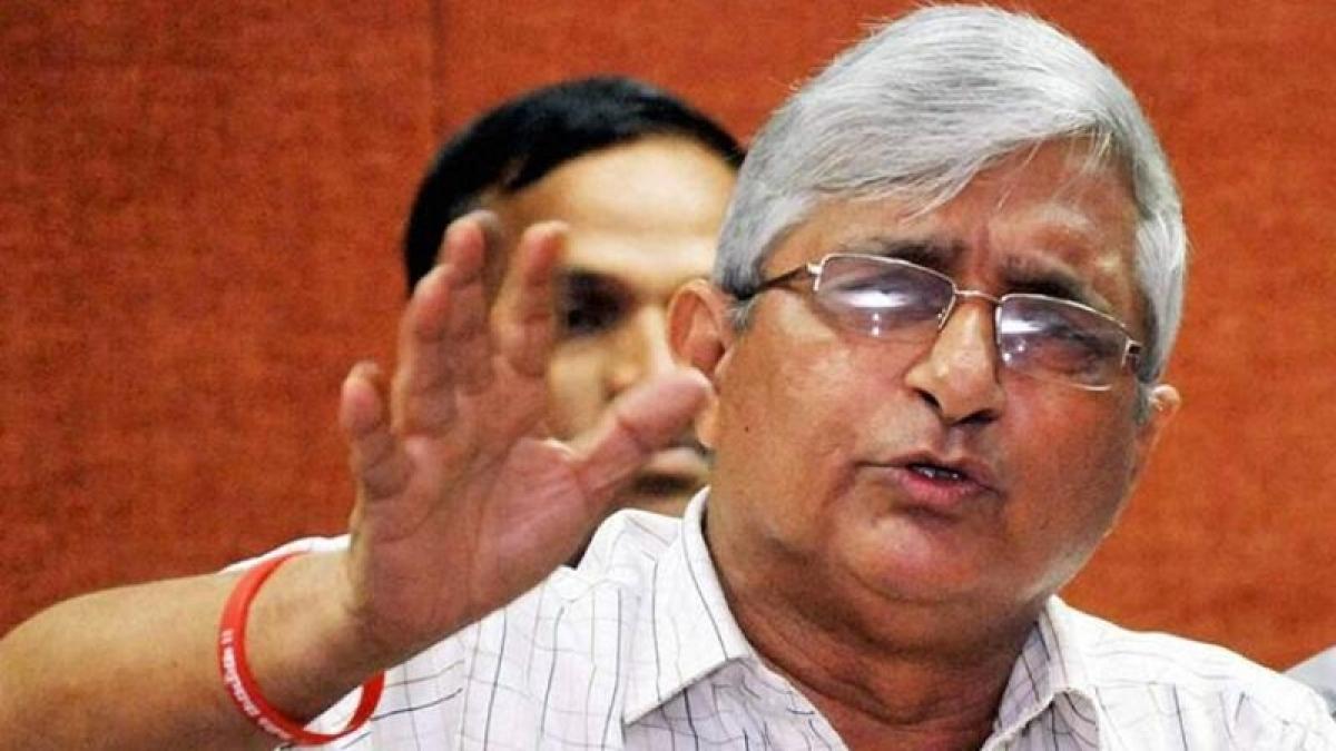 Subhash Velingkar ex-Goa RSS chief slams CM for backing casinos