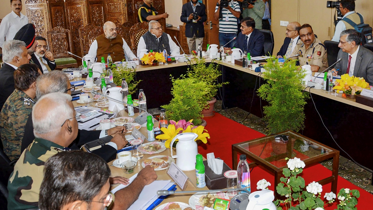 Take strict action against terror funding in Jammu and Kashmir: Amit Shah to security forces
