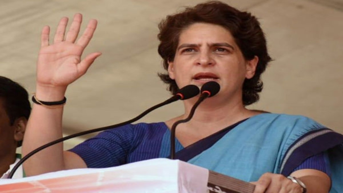 Criminals roaming around freely in UP: Priyanka