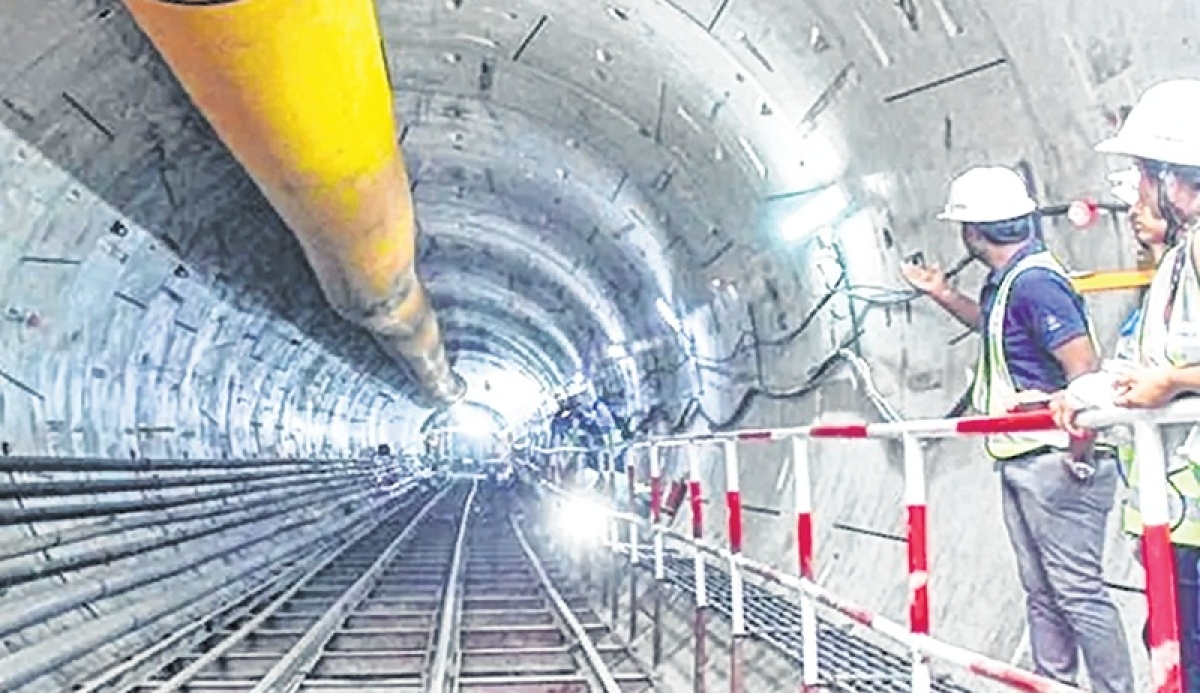Tunnelling below Mithi river will remain unaffected in monsoon