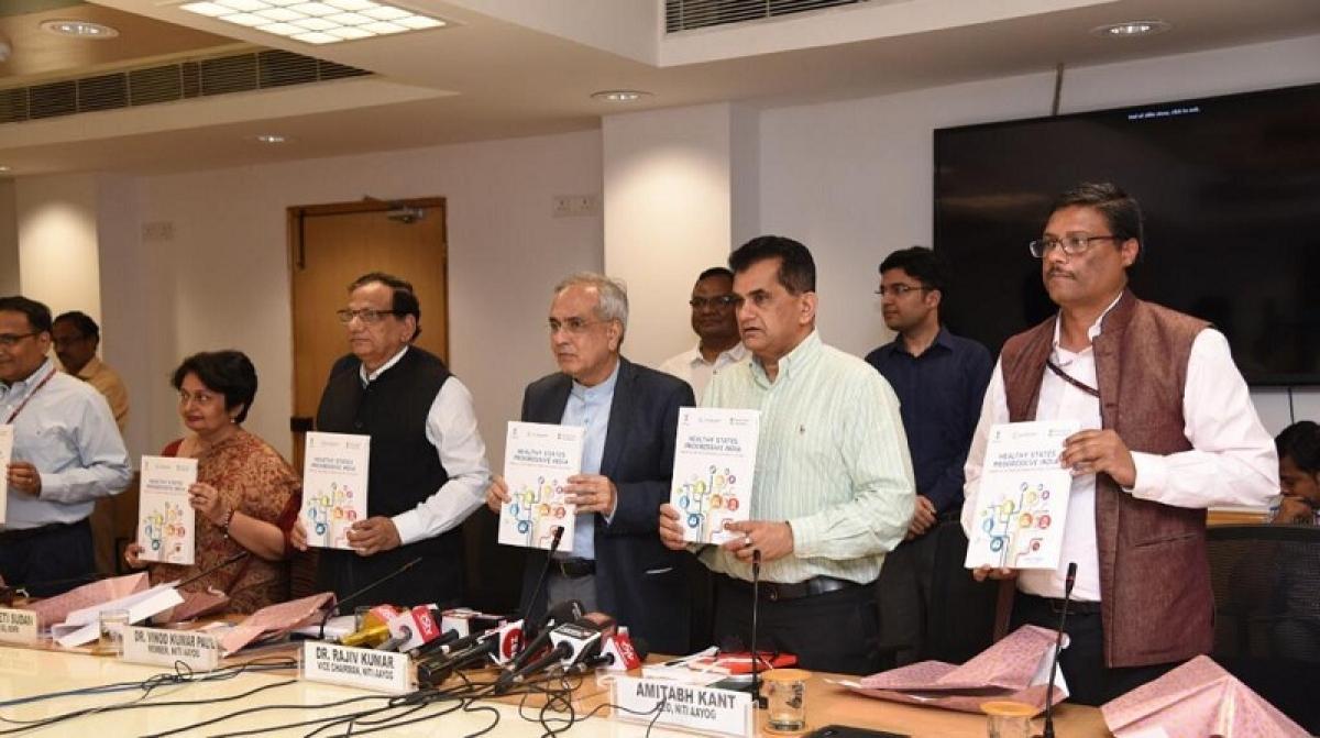 Kerala tops Niti's second Health Index, Uttar Pradesh worst performer