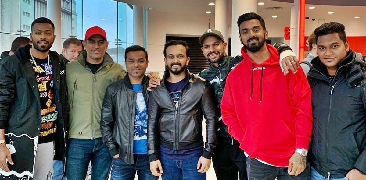 Team India enjoys 'Bharat' in England, Salman Khan sends wishes for WC 2019