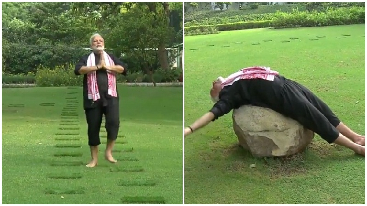 'Your magical exercise might just start economy': Rahul Gandhi uses Modi's fitness video to take jibe at PM