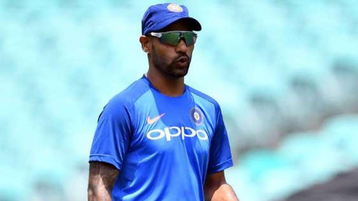 Who should replace Shikhar Dhawan?