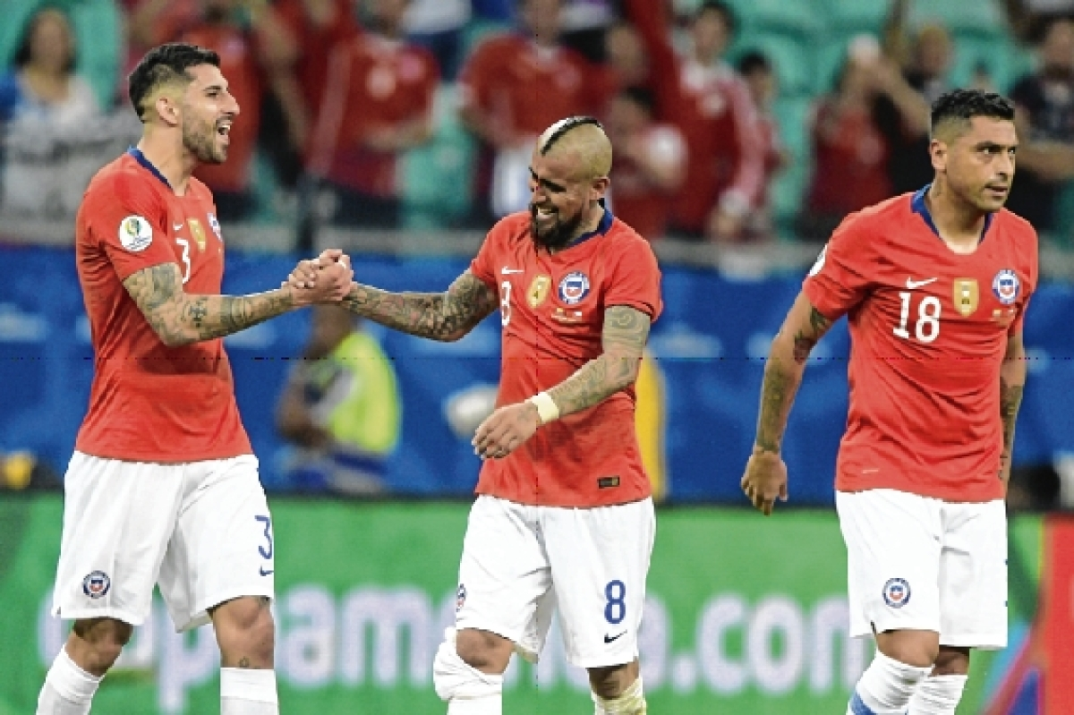 Copa America: Chile make quarter-finals