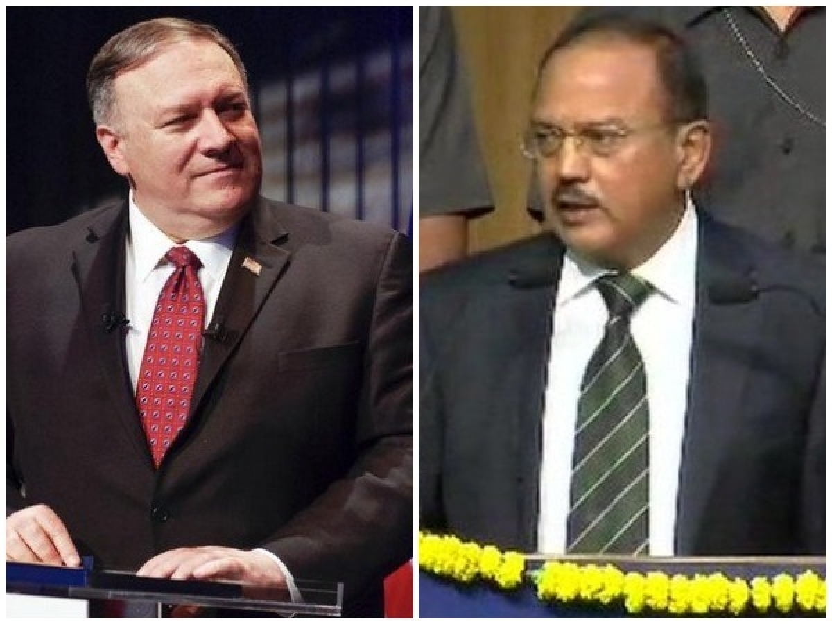 Amid China stand-off along LAC, NSA Doval meets Pompeo in Delhi
