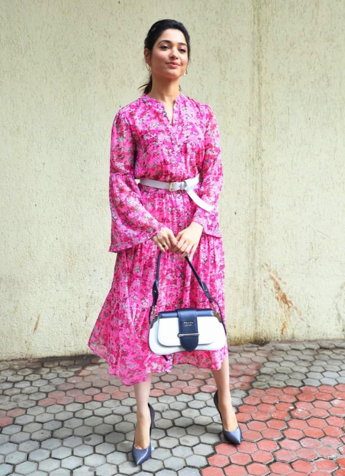 Cost of Tamannah Bhatia's Prada Bag can get you a Manish Malhotra lehenga!