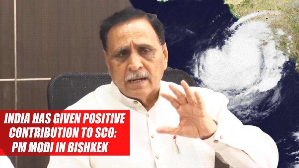 Cyclone Vayu Will Not Hit Gujarat, State Is Safe Now, Says CM Vijay Rupani