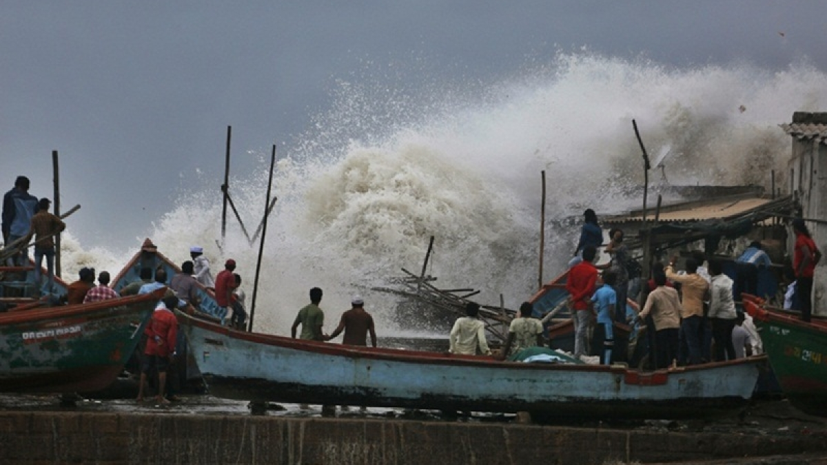 Cyclone Vayu lies centred over Northeast Arabian sea: IMD
