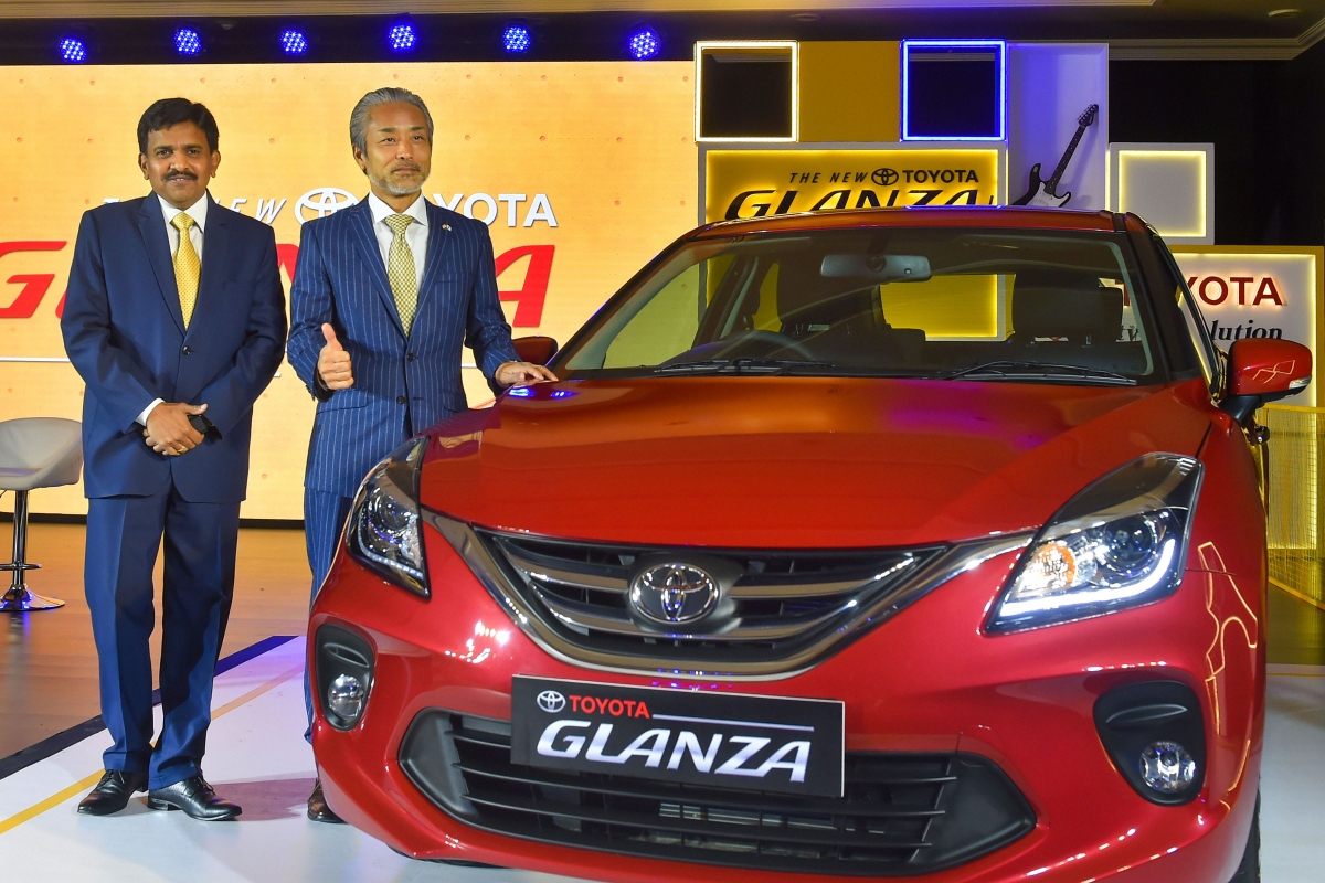 Toyota launches Glanza in India