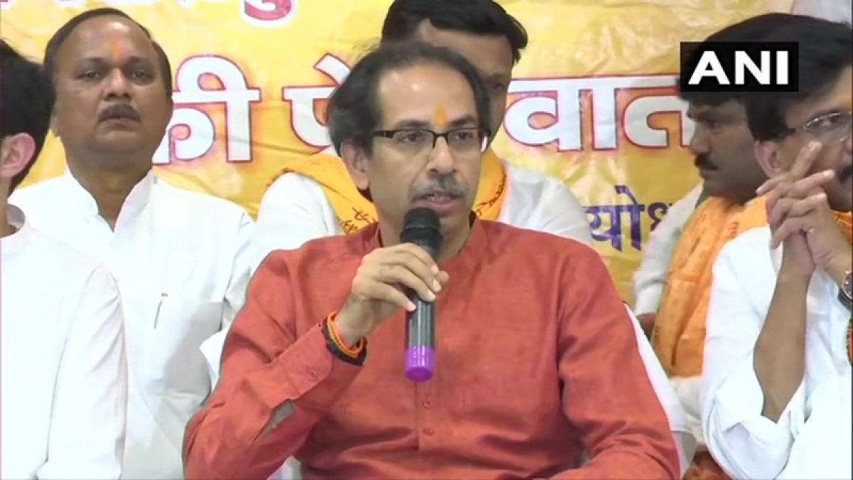 PM Narendra Modi has courage, should bring ordinance to construct Ram temple: Uddhav Thackeray in Ayodhya