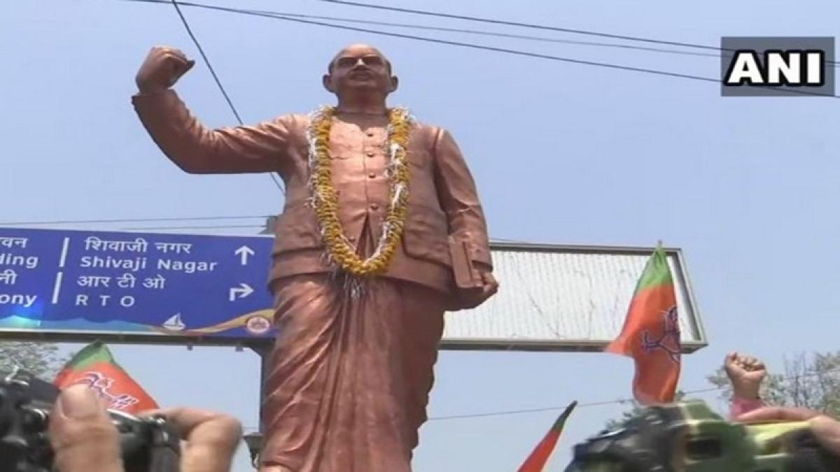 Shivraj Singh Chouhan, other BJP leaders pay tribute to Shyama Prasad Mukherjee