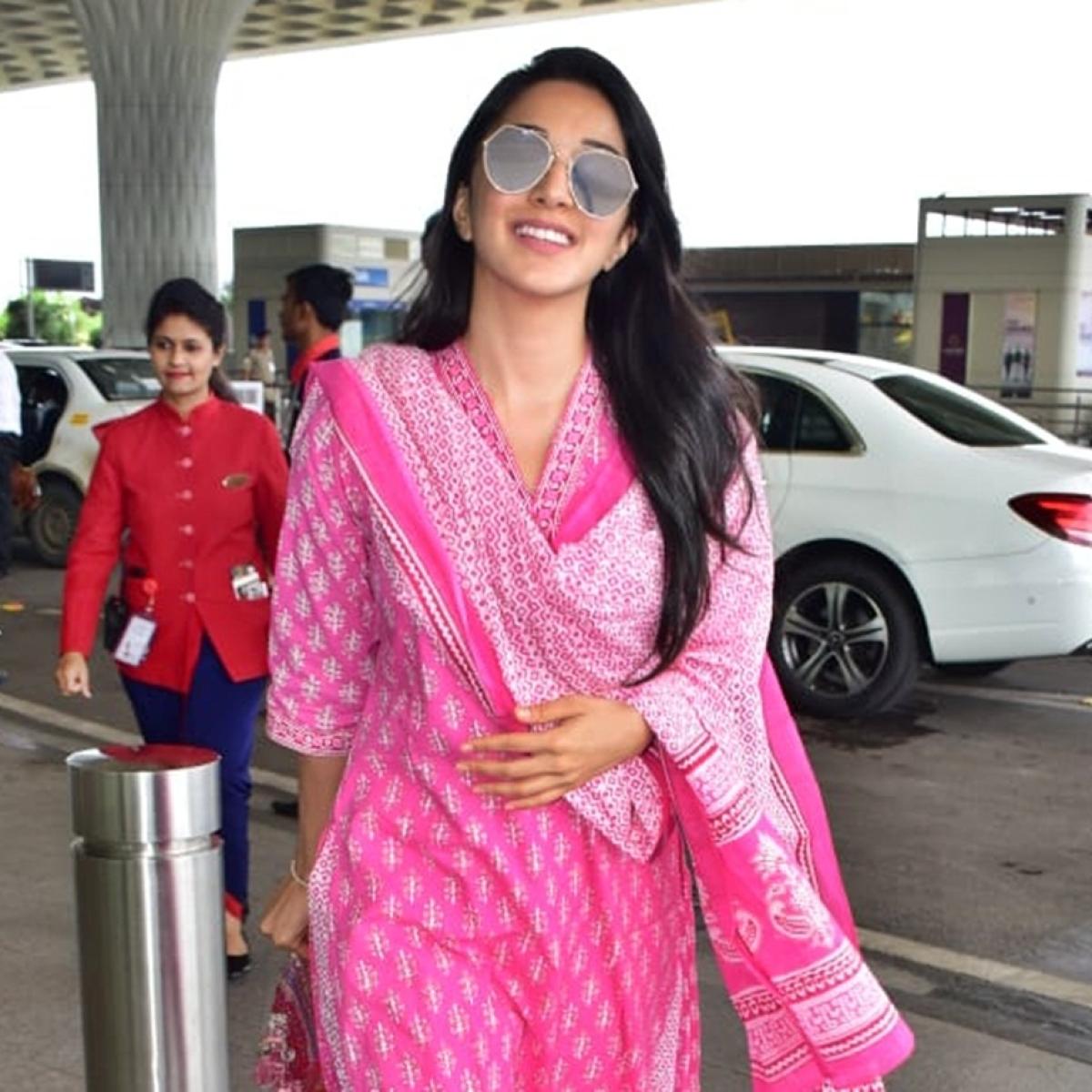 Kiara Advani's airport fashion consists of Rs 45,000 flip flops