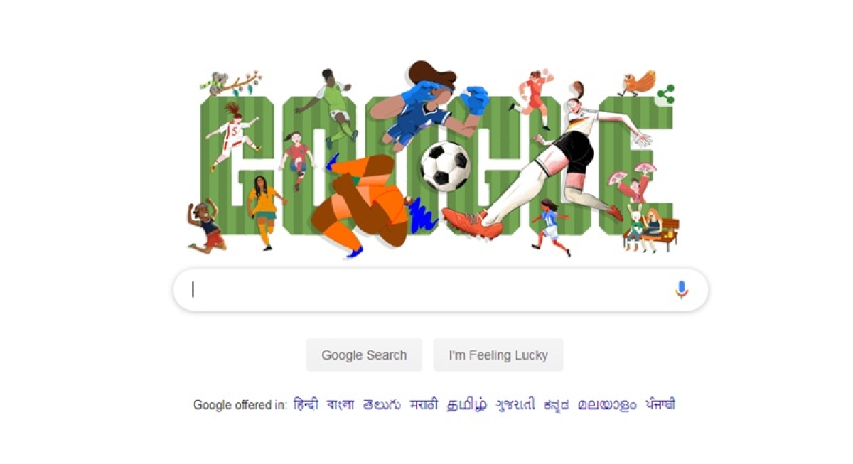 Google celebrates commencement of FIFA Women's World Cup with creative doodle