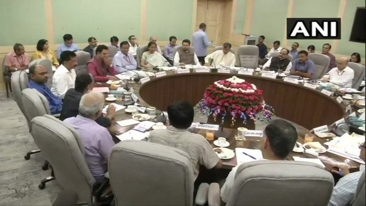 Finance Minister Sitharaman holds first pre-Budget meeting with stakeholders