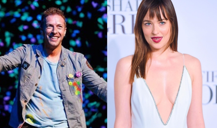 248d5e293 Chris Martin spotted with mystery woman post split with Dakota Johnson