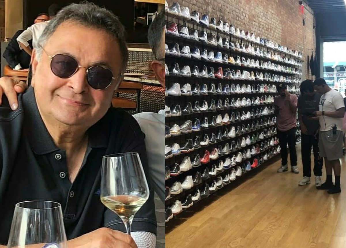 Rishi Kapoor stumped after finding out these sneakers are worth Rs. 30 Lakhs