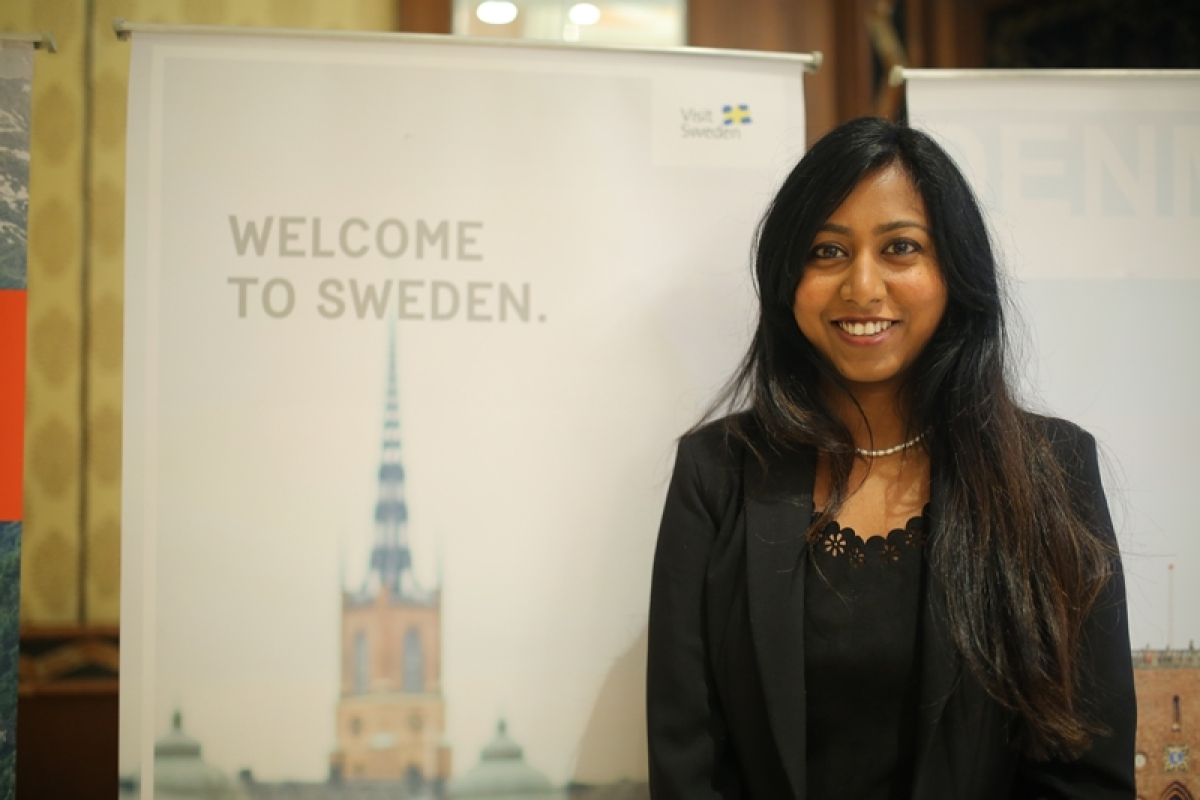 Ruth Dolla Manager - India at Visit Sweden: Almost 200 Swedish companies have a presence in India