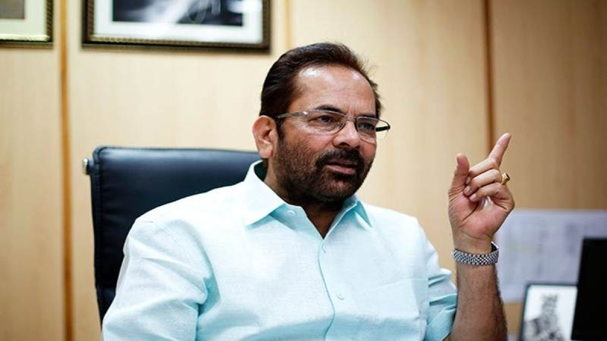 Opposition parties 'conspired to hijack peace' by spreading lies: Mukhtar Abbas Naqvi