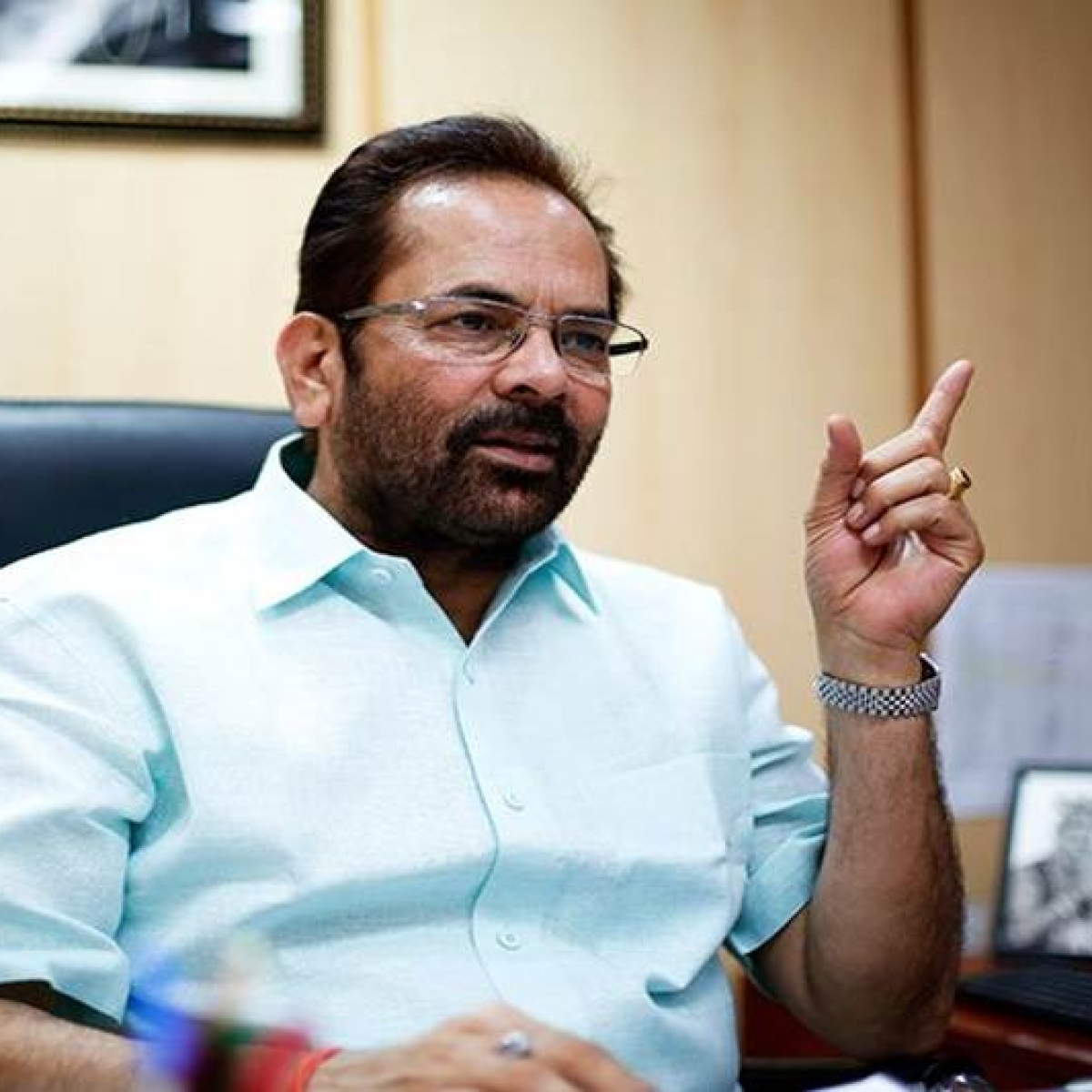 Government empowering minorities without appeasement: Abbas Naqvi