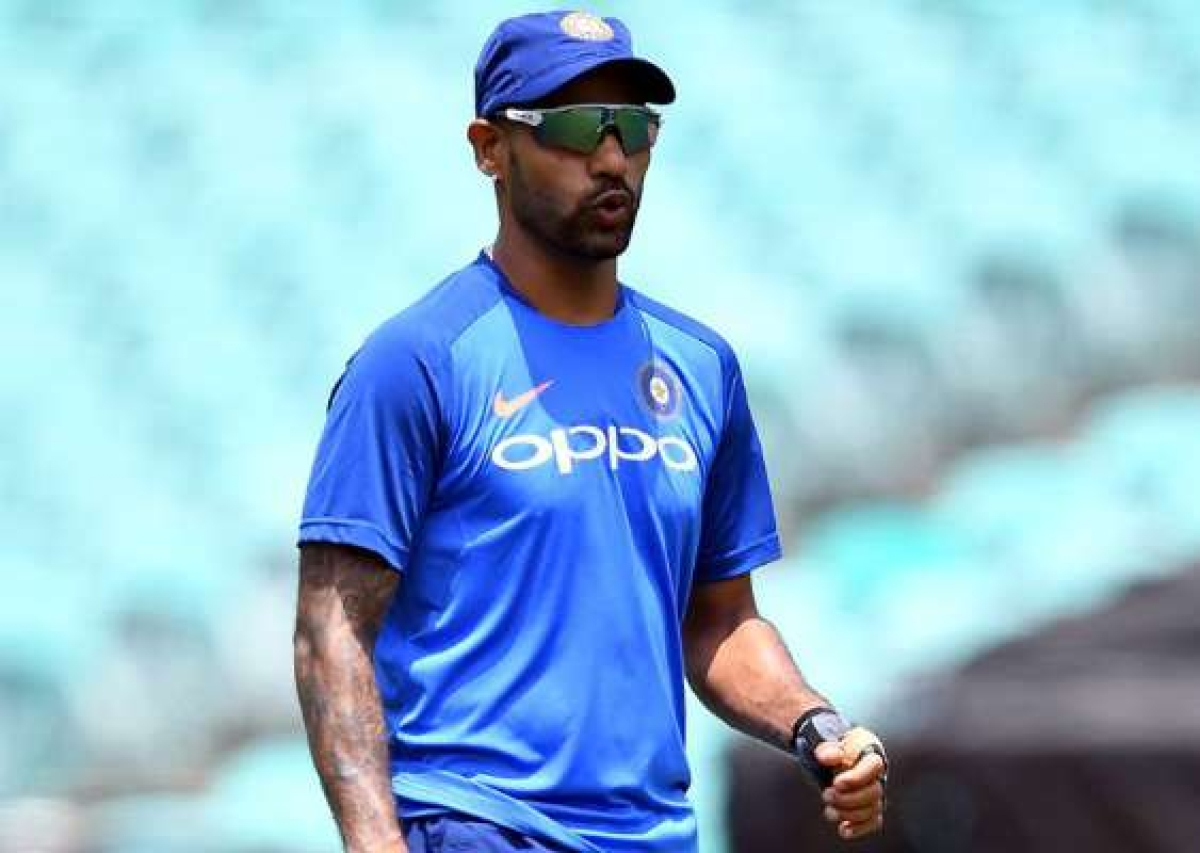CWC19: Shikhar Dhawan ruled out of WC, Pant to replace opener