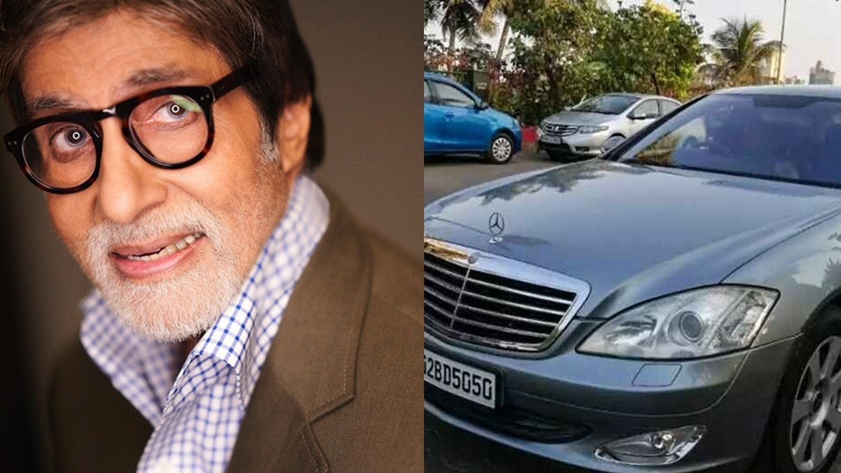 You can buy Amitabh Bachchan's Mercedes-Benz S-Class for less than Rs 10 Lakh!