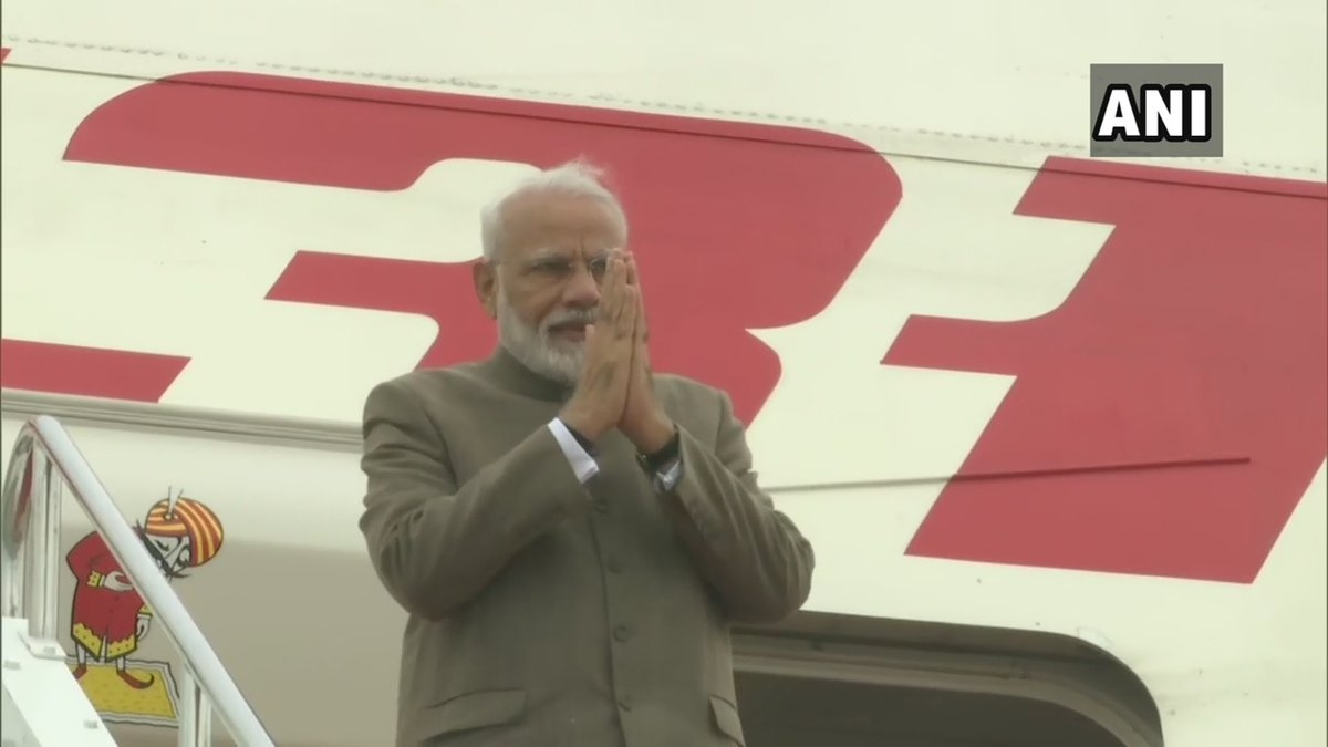PM Narendra Modi leaves for home after G20 Summit in Japan