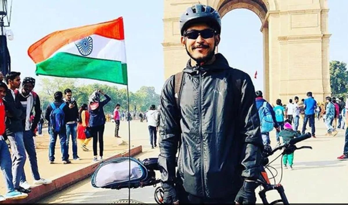 Kashmir-Kanyakumari cycle trip to highlight water woes
