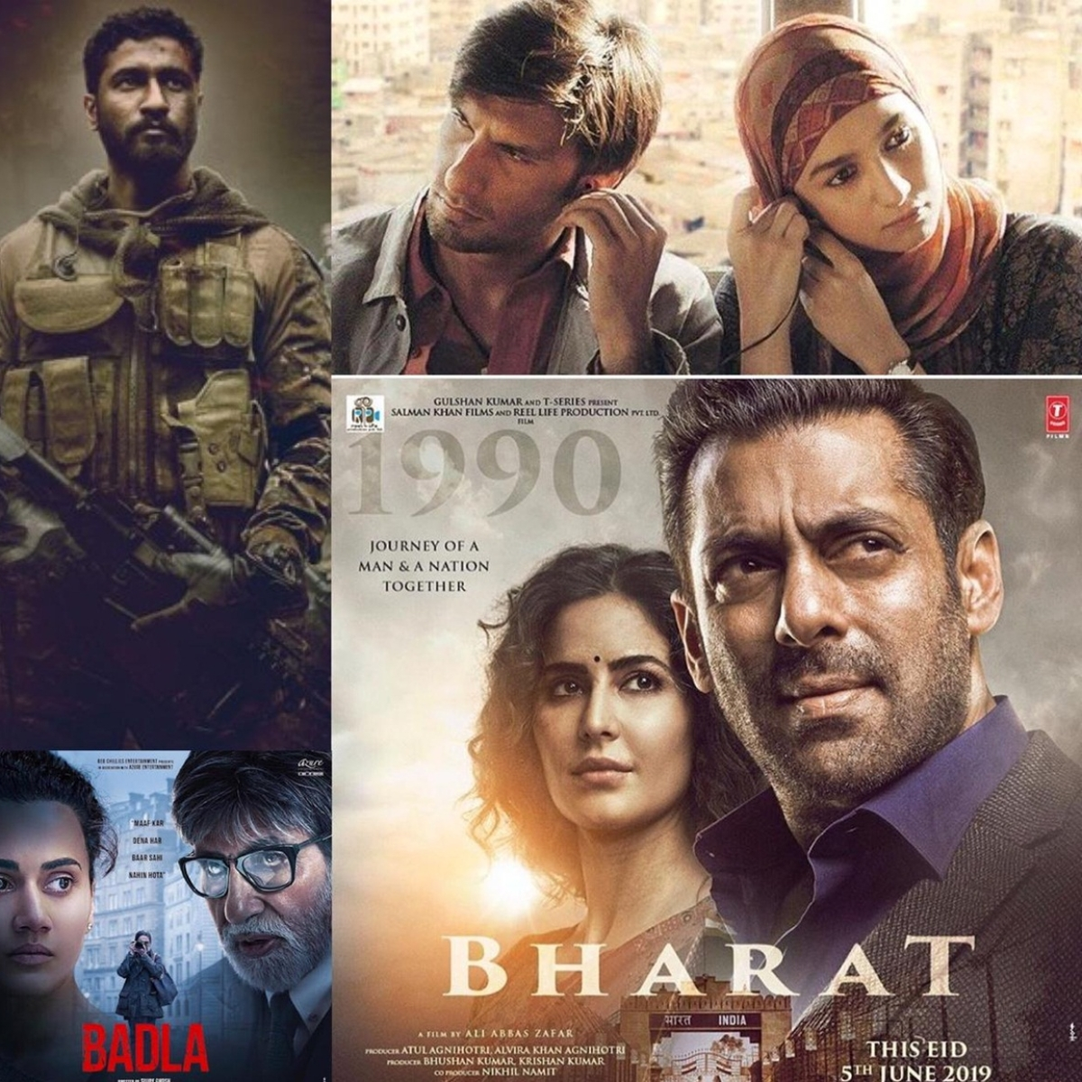 First half of Bollywood 2019: Hits and misses at the box office!