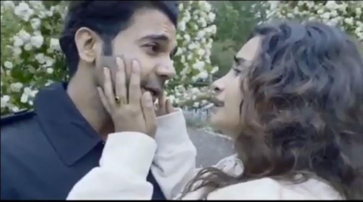 Rajkummar Rao recreates iconic 'DDLJ' climax scene with GF Patralekhaa