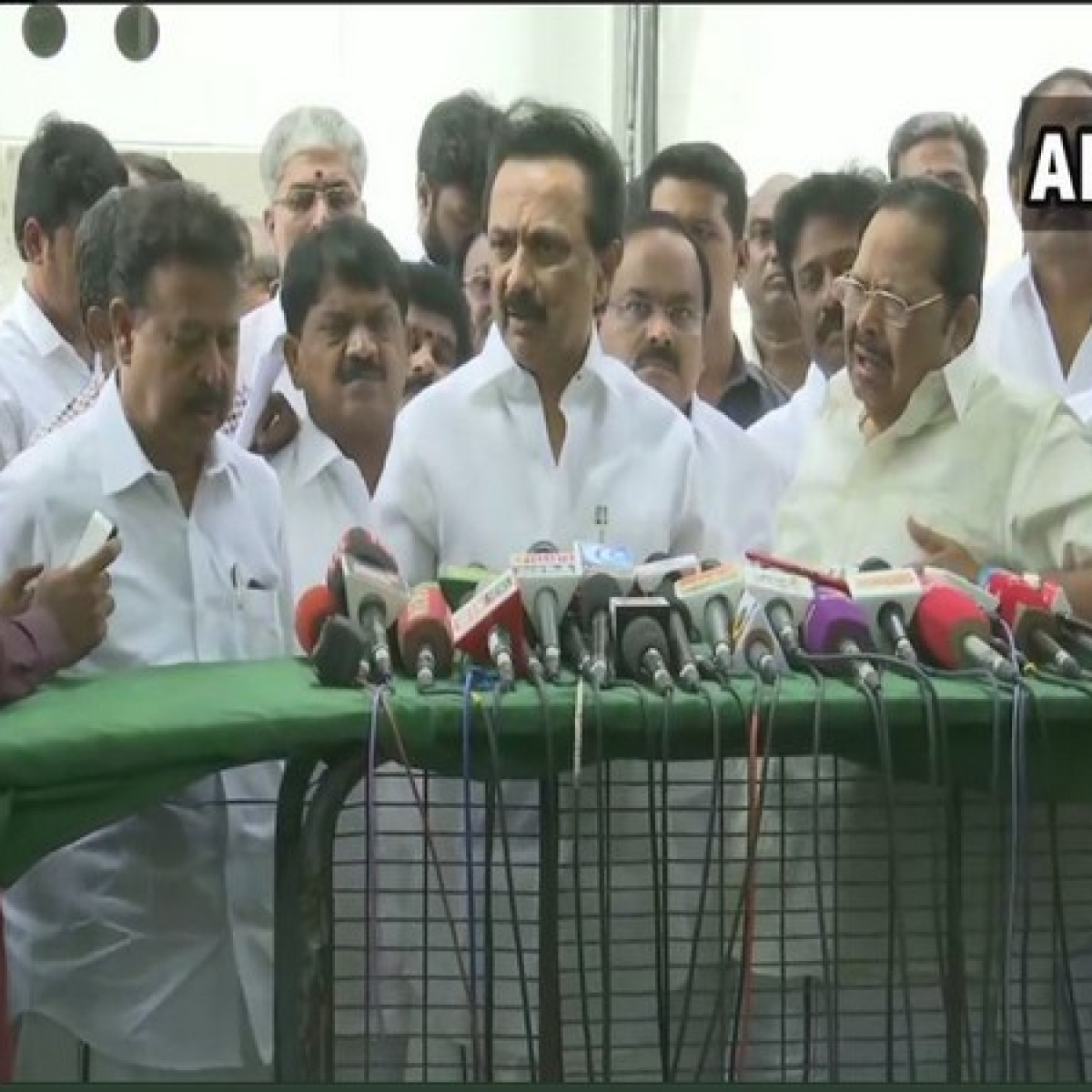 AIADMK government acted on water crisis after we raised issue: MK Stalin
