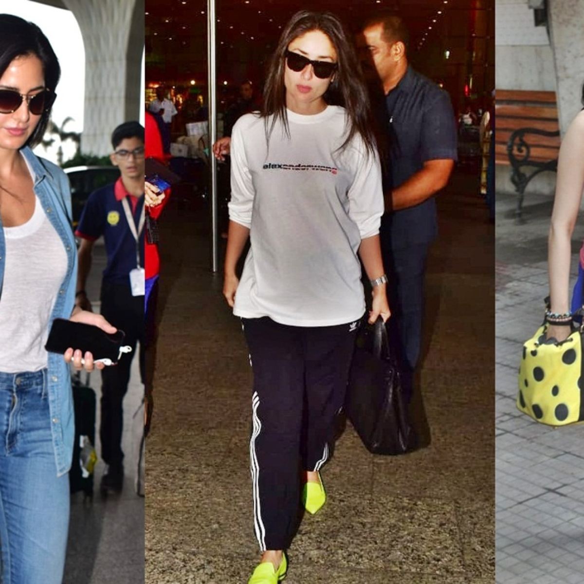 Celebrity Spotting: Katrina Kaif, Kareena Kapoor, Janhvi Kapoor and more