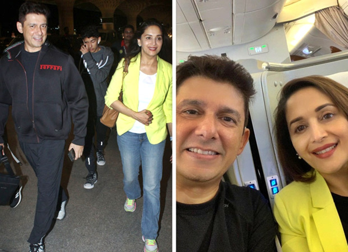 Madhuri Dixit enjoys a Roman vacay with hubby Sriram Nene and kids