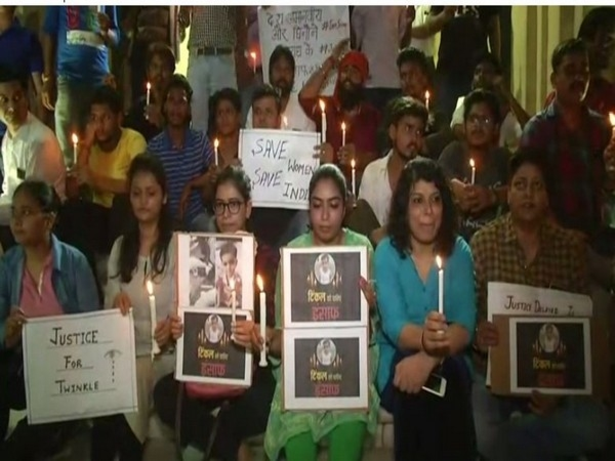 People take to streets, seeking justice for Twinkle Sharma