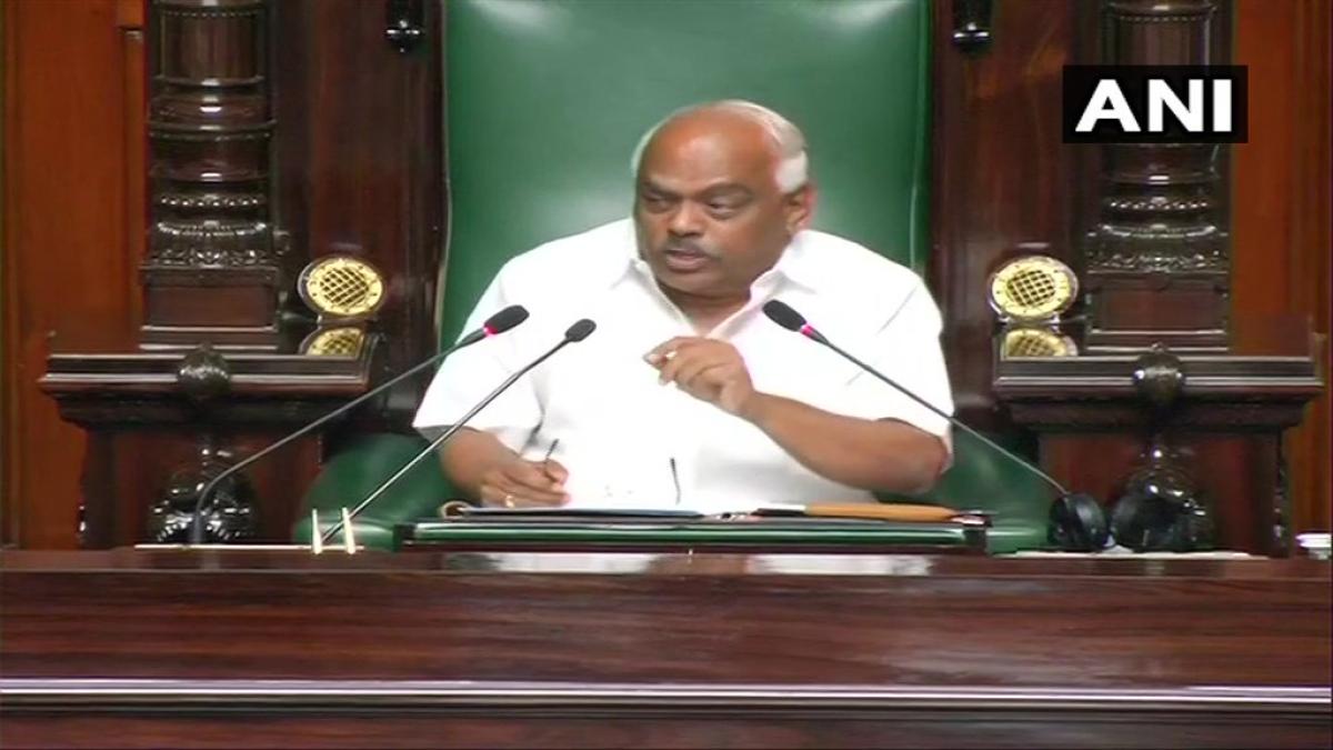 Karnataka Assembly Speaker K. R. Ramesh Kumar
