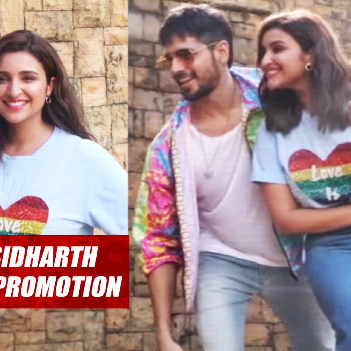 Parineeti Chopra, Sidharth Malhotra Are All Smiles During 'Jabariya Jodi' Promotion