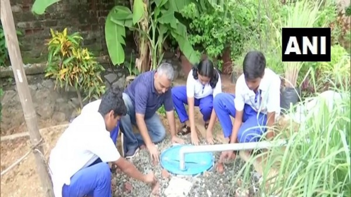 This Mumbai man gave up his career to setup rainwater harvesting systems in schools
