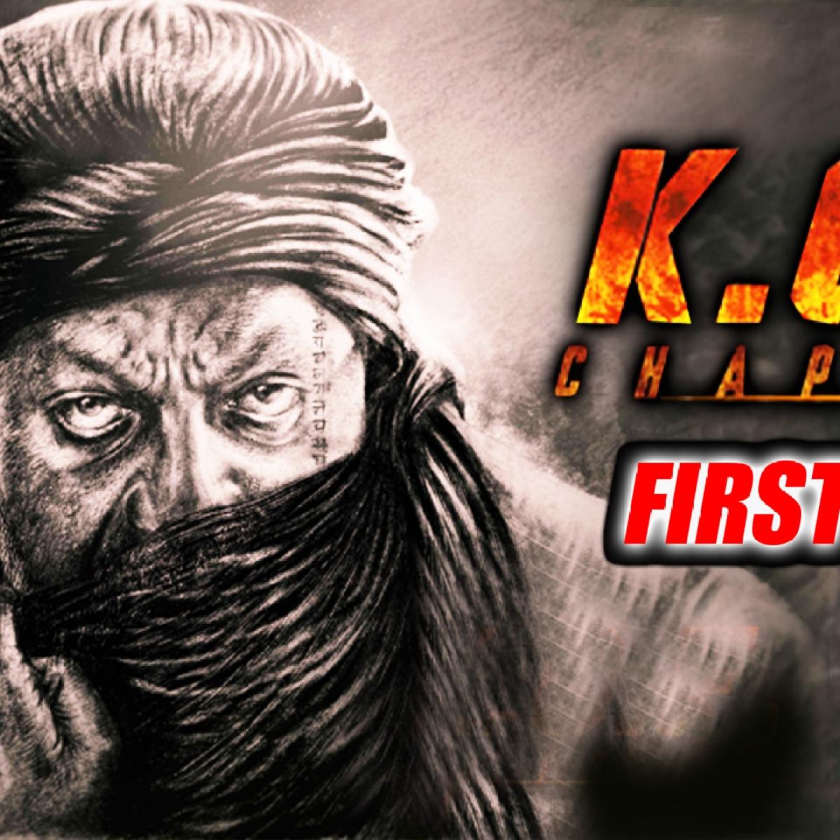 KGF Chapter 2 FIRST LOOK Sanjay Dutt as Adheera
