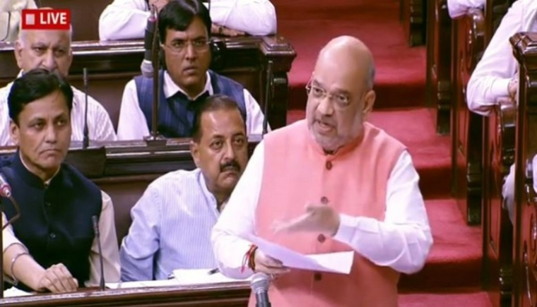 Modi government Committed to resettle Kashmiri Pandits in valley: Amit Shah