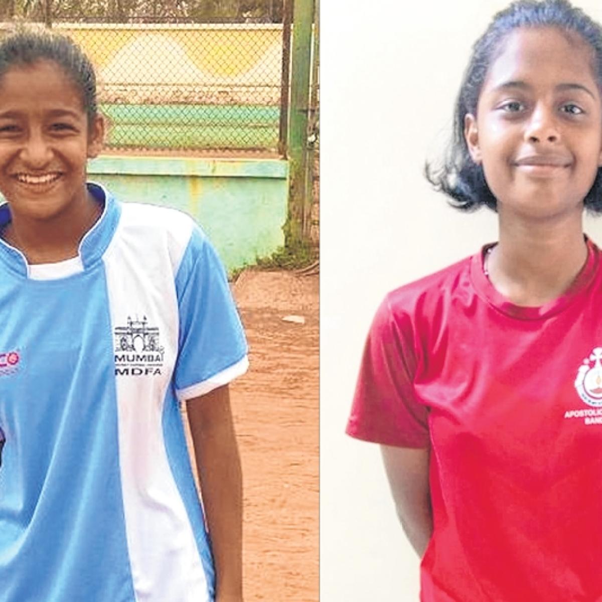 MSSA football: Glynelle Picardo and Riya D'sourza shine for Apostolic Carmel
