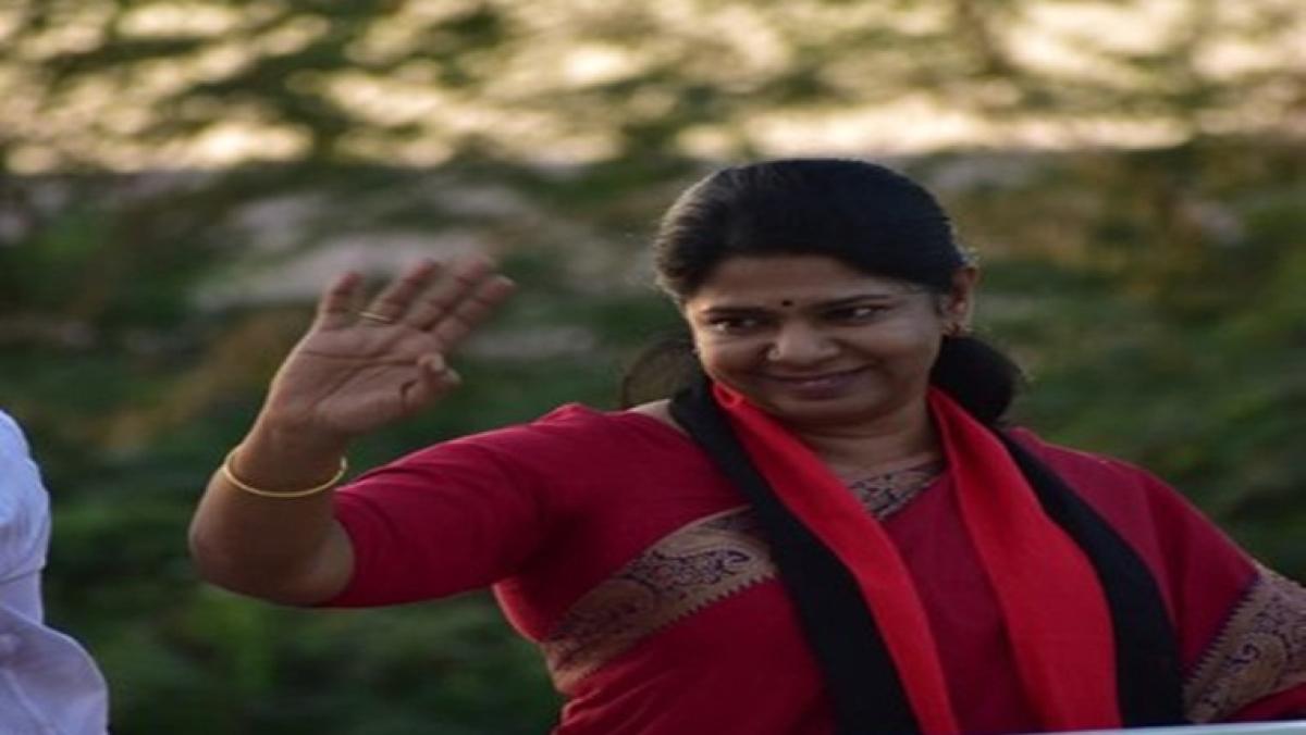 DMK member Kanimozhi