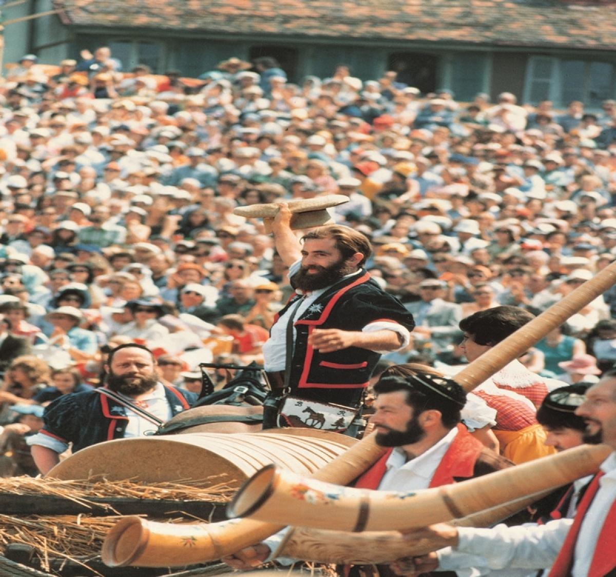 Switzerland's Fête des Vignerons wine festival in Vevey is happening this summer!