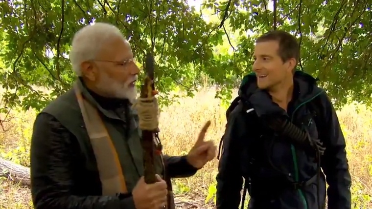 PM Narendra Modi to feature with Bear Grylls in 'Man vs Wild