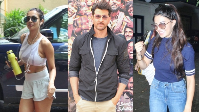 Celebrity Spotting: Malaika Arora, Jacqueline Fernandez and others snapped around Mumbai