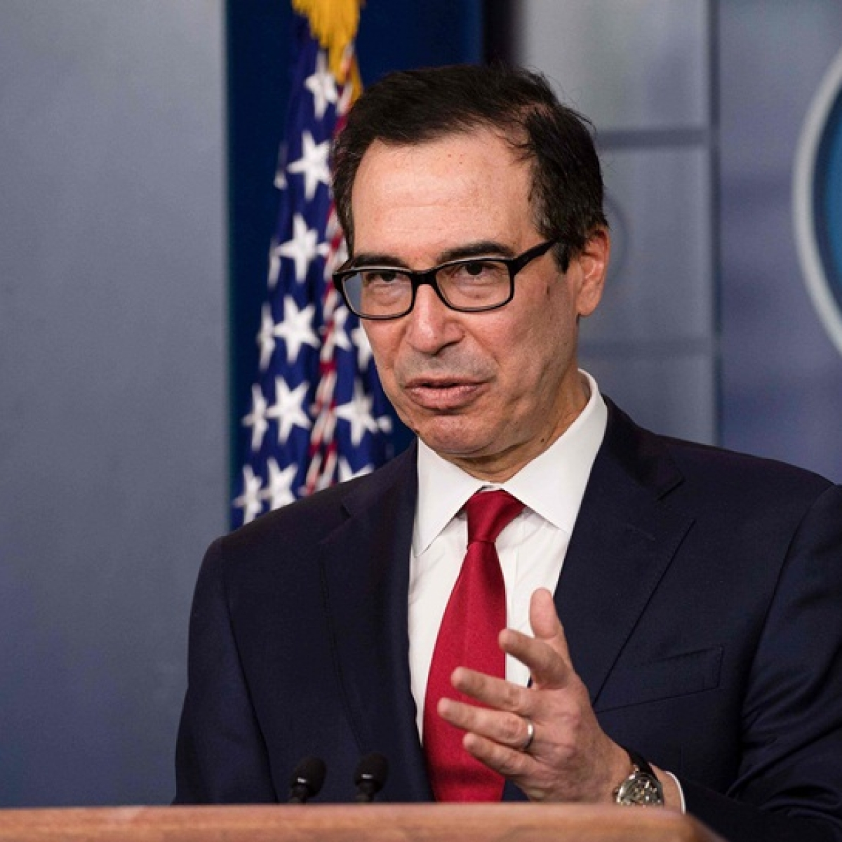 Cryptocurrency is a national security issue, says US Treasury Secretary